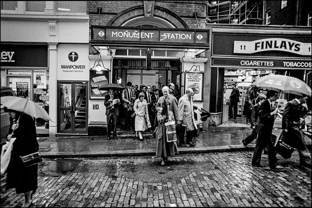 Monument Station, London, UK. Konica T4 TriX 400@400