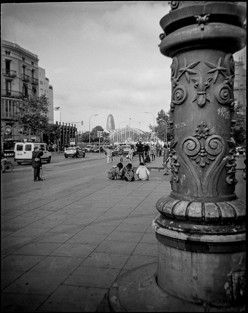Barcelona , Debonair, TriX 400@400, Rodinal 1:50