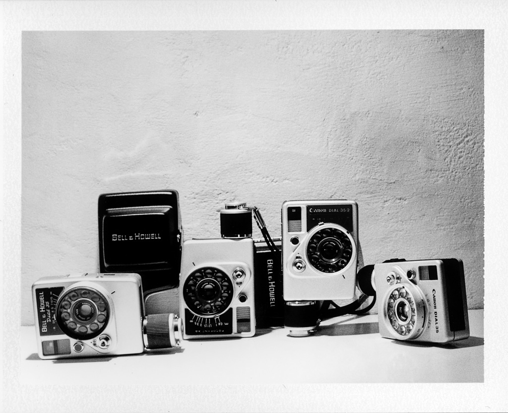 Canon Dial 35 Bell&Howell half frame collection