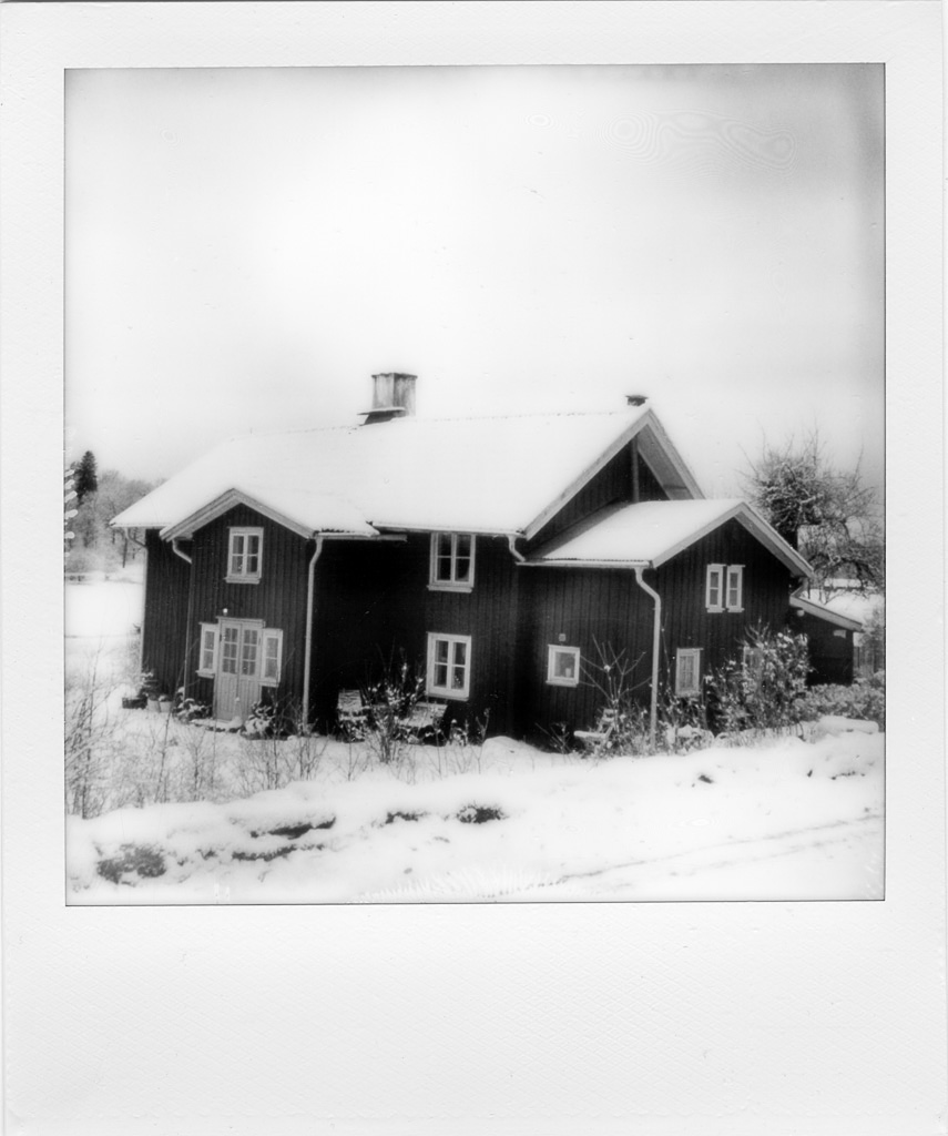 141228 Polaroid SX 70,Silver Shade from The Impossible Project