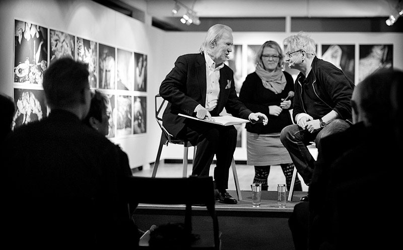 Anders Petersen Vernissage Abecita Konstmuseum Borås. Samtal med Hasse Persson